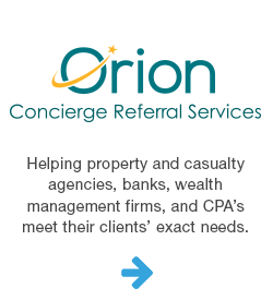 Orion concierge advisor services.