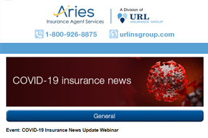 COVID-19 Insurance News from URL | April 9th