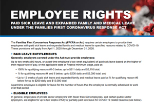 COVID-19 Employee Rights Notice