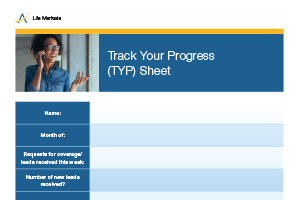 Track Your Progress (TYP) Sheet