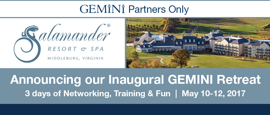 Announcing our inaugural gemini retreat.