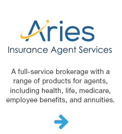 Aries insurance agent services.